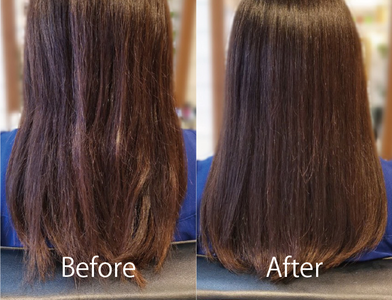 髪質改善 美髪 艶髪